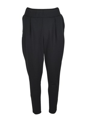 Erre Pleated Pants with Pockets Black