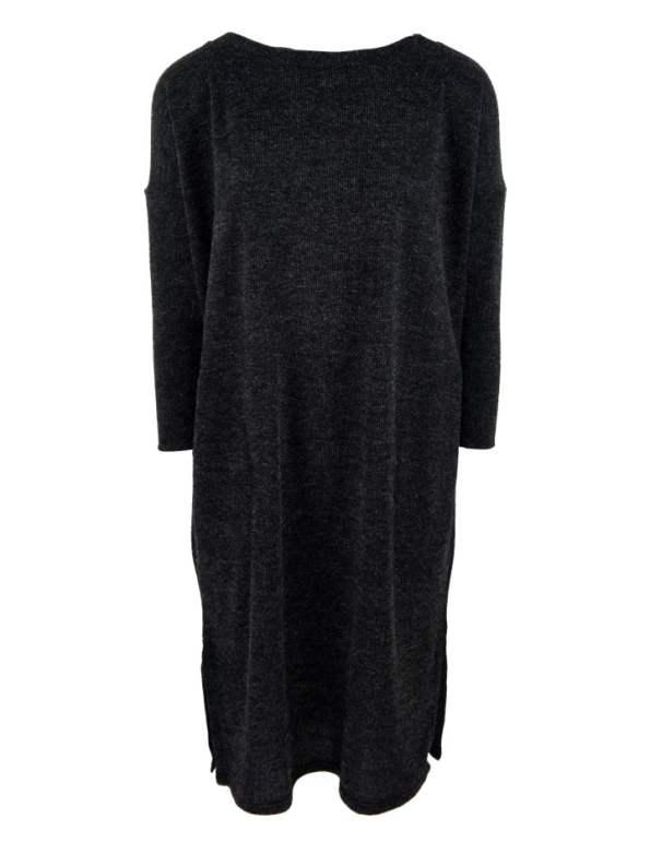 Isabel de Villiers Boxy Knit Dress Black