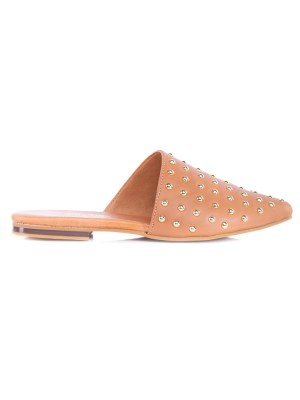 Leather mules with gold studs South Africa