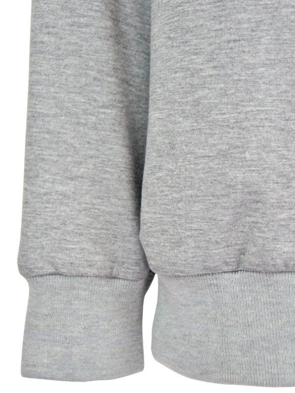 JMVB Athleisure Sweater Grey Closeup
