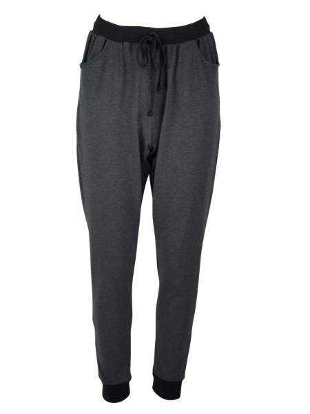 Charcoal grey sweatpants track pants made in South Africa