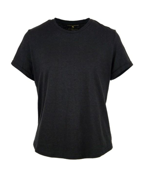 Asha Eleven Hemp Organic Cotton T-shirt Black