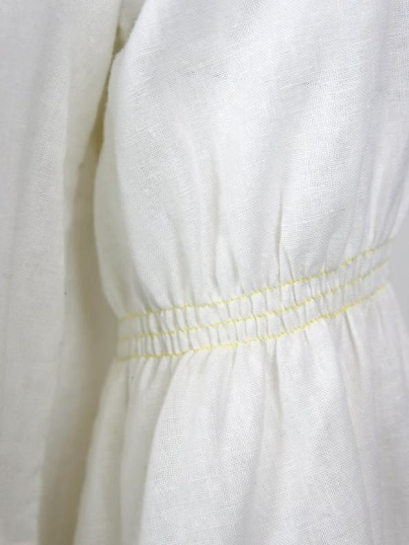 Asha Eleven Outlander Blouse Natural Sleeve