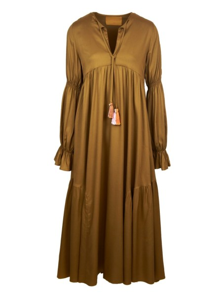 brown long dress maxi dress made in South Africa