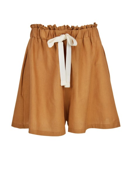 brown hemp linen ladies shorts South Africa