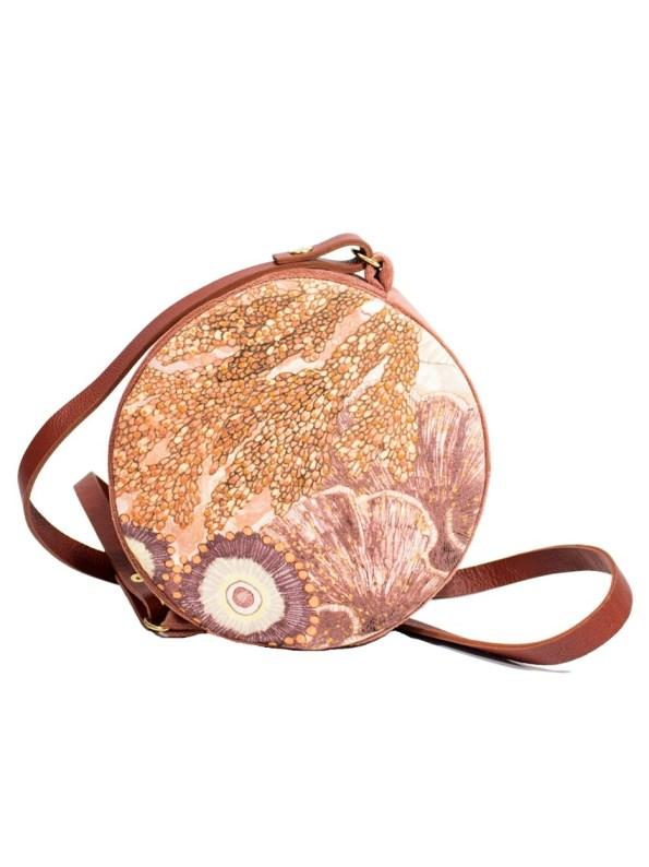 Aureum Oceanum Round Bag Coral