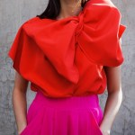 Erre Bend Bow Top Red