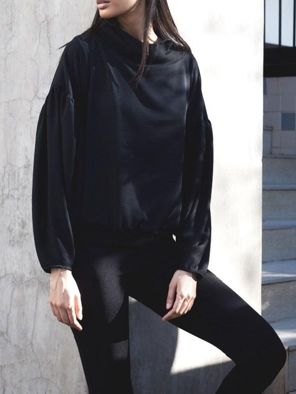 Erre Flex Summer Sweater Black Front