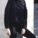 Erre Flex Summer Sweater Black
