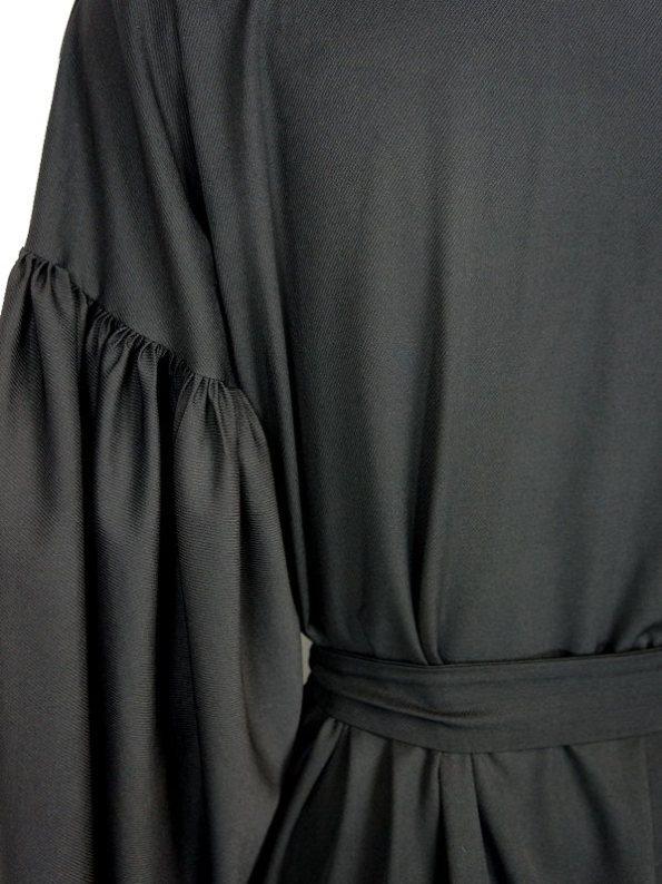 Erre Gather Coat Coverup Sleeve