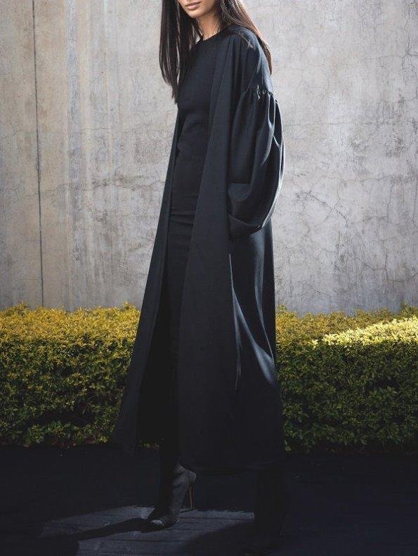 Erre Gather Coverup Kimono Jacket Side