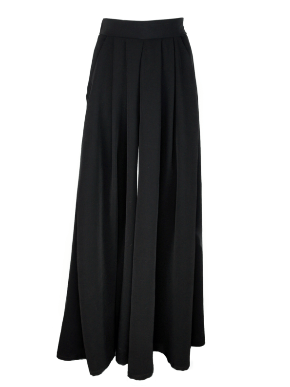 Erre Stride Wide Leg Pants Black
