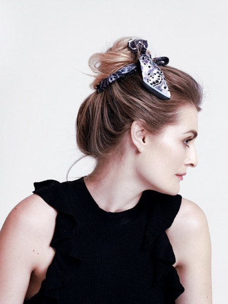 think bow ribbon scarf for hair South Africa