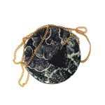 Wanderland Pouch Bag Urchin with Tassel and Chain