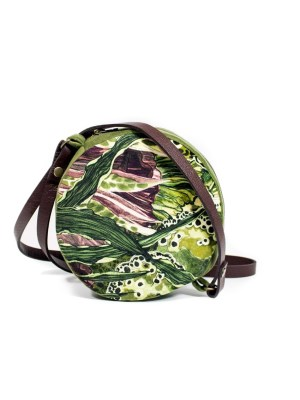 Round crossbody bag with green velvet round bag South Africa