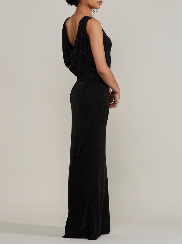 Mareth Colleen Blaire Sparkle Low Back Dress