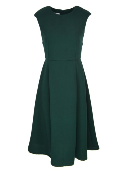 Work dress South Africa Green With Slit
