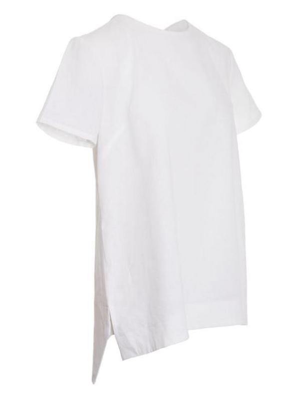 Mareth Colleen May Top White Linen Side