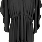 Mareth Colleen Tristan Dress Black