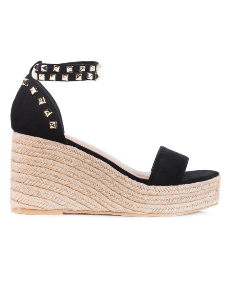studded black wedge shoes South Africa
