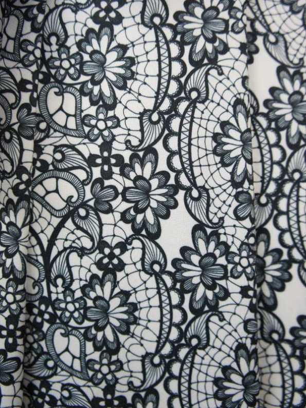 African Style Story 3-in-1 Dress Lace Print Fabric