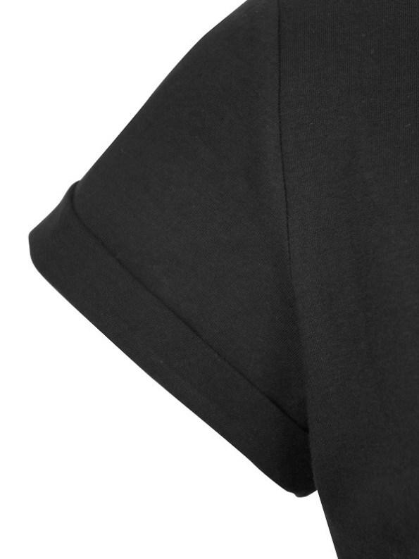 JMVB Jimmy D T-shirt Black Sleeve