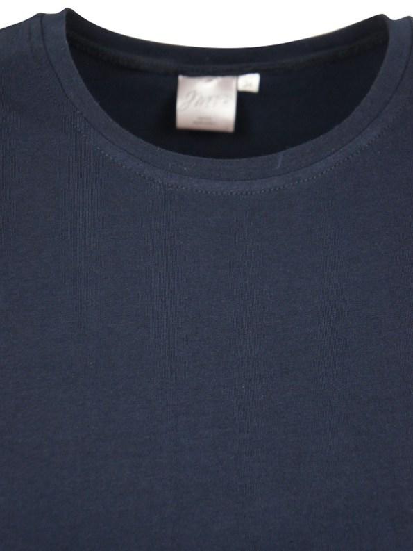 JMVB Jimmy D T-shirt Navy Closeup