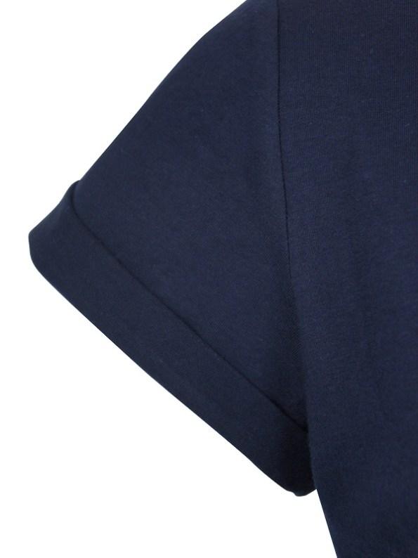 JMVB Jimmy D T-shirt Navy Sleeve