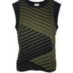 Green knitted tank top South Africa