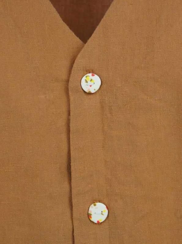 Asha Eleven Kasi Blouse Chesa Closeup