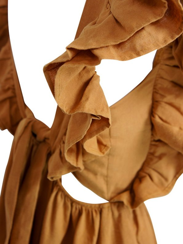 Asha Eleven Pambo Dress Chesa Back Detail