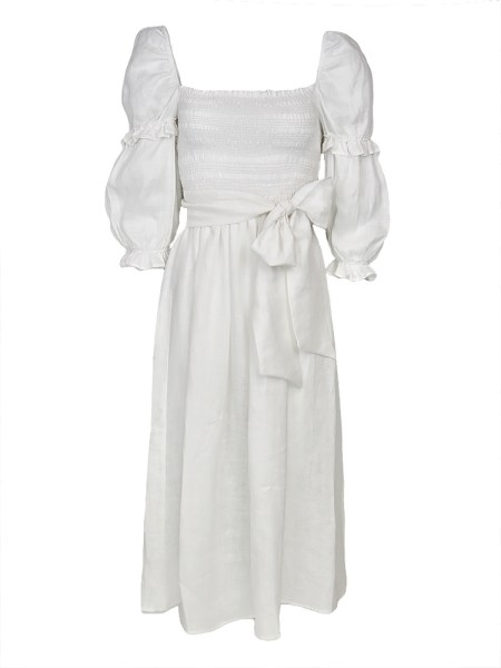 White linen midi dress South Africa