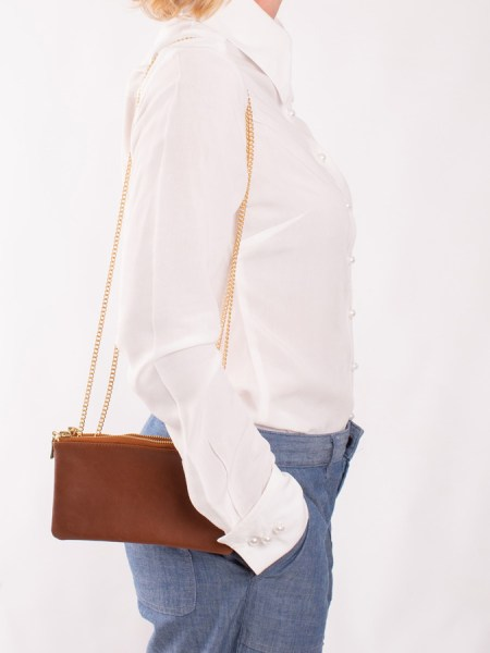 tan leather chain bag South Africa