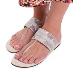 House of Cinnamon Louise Sandals Grey Side