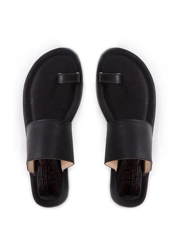 House of Cinnamon Rosa Sandals Black Pair