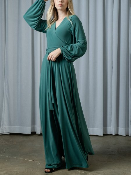 Seafoam green wrap dress South Africa