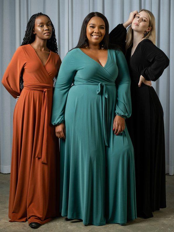 IDV Maxi Wrap Dresses