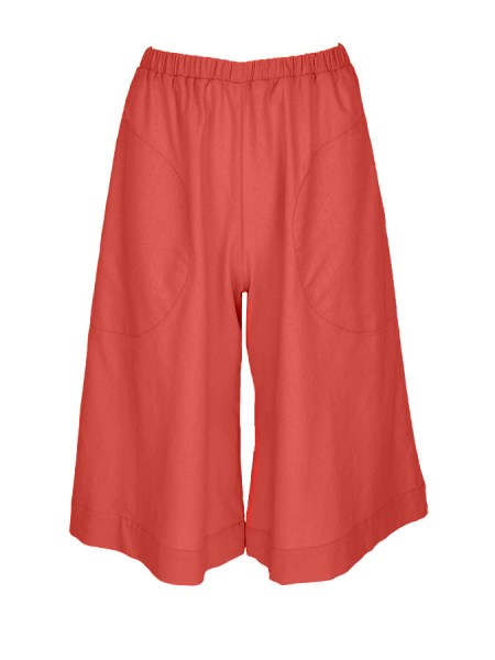 Coral linen culottes plus size South Africa