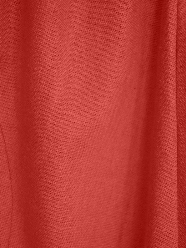 Isabel De Villiers Culottes Coral Linen Blend Fabric
