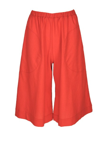 orange linen culottes plus size South Africa