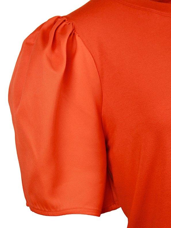 Erre Silhouette T-shirt Orange Sleeve