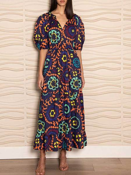 Cotton floral maxi dress South Africa
