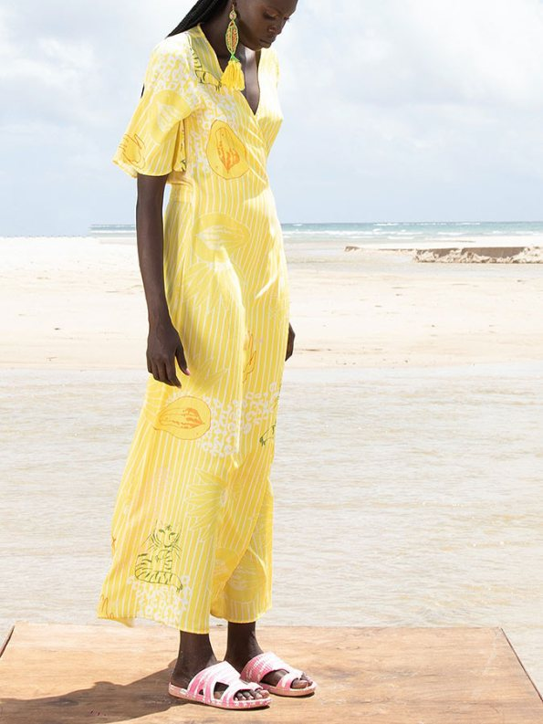 Asha Eleven Diani Wrap Dress Everything is Everyone Front