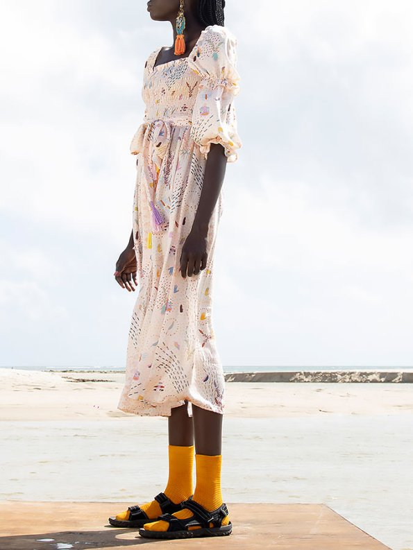 Asha Eleven Jani Dress Follow Your Signs Side