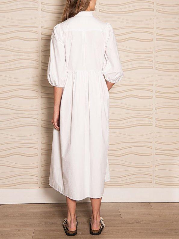 Smudj Eleventh Hour Dress White Back