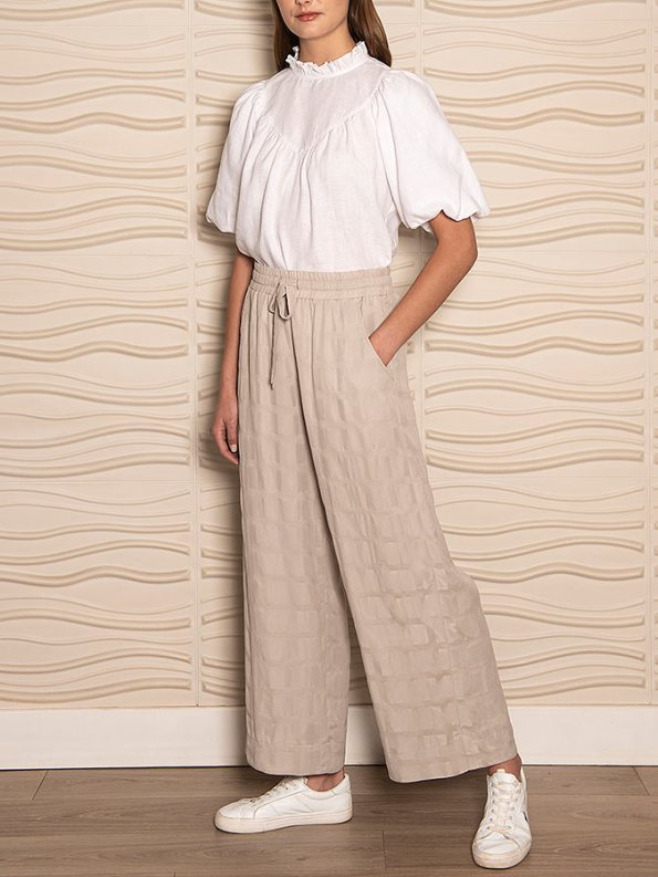 Smudj Jazzy-G Top White Linen Side