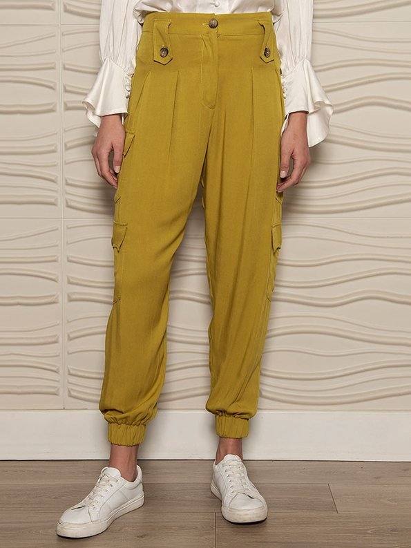 Smudj Resolute Utility Jogger Ocre Front
