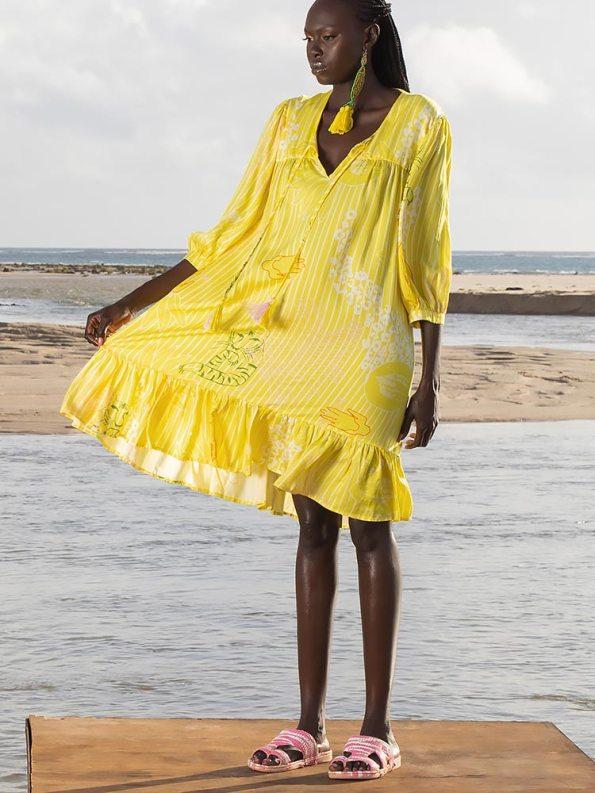 Asha Eleven Kuku Dress Everything is Everyone Side
