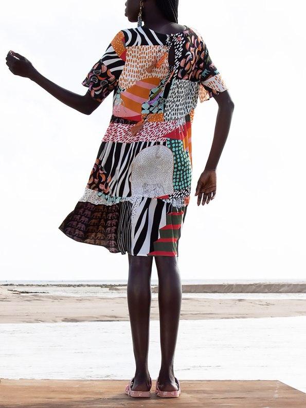 Asha Eleven Muda Dress Transcendence Back