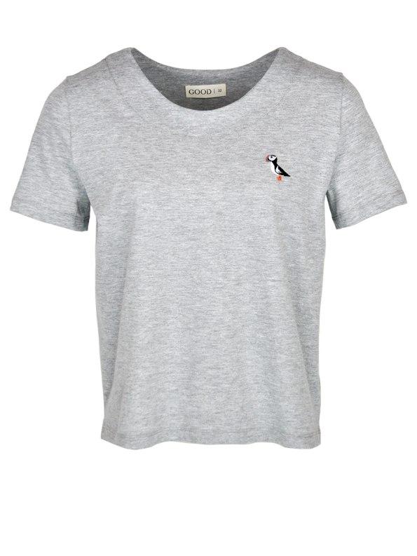 Good Puffin T-shirt Grey